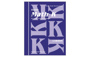 Saxon Math Grade K Complete Package