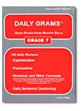Daily Grams Grade 7 Teacher