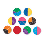 Fractions Circles (STEM) (Suggested CP2, CP3, CP5, BC2, BC3, BC4 BC5, BC6)