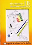 Singapore Math 1B STD Edition Home Instructors Guide