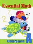 Singapore Math Essential Math Book A Kindergarten