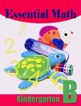 Singapore Math B Essential Math Kindergarten