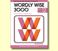 Wordly Wise 3000 Book 12 (vocabulary, writing, critical thinking) 3rd edtion