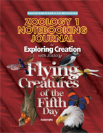 Exploring Creation with Zoology 1 Notebooking Journal (Apologia, Faith based)