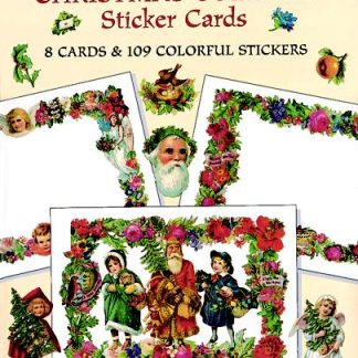 Make Your Own Christmas Collage Sticker Cards