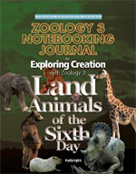 Exploring Creation with Zoology 3 Notebooking Journal (Apologia, Faith based)