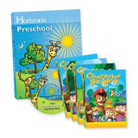 Horizons Preschool Box Set & Multimedia Set  (faith based)