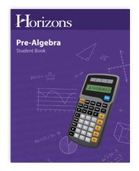 Horizons Math Grade 7 PreAlgebra student book