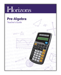 Horizons Math Grade 7 PreAlgebra Teacher Guide