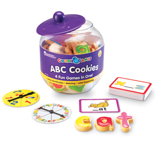 ABC Cookies Goodie (Alphabet Game) (STEM)
