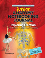 Exploring Creation with Human Anatomy & Physiology JUNIOR Notebooking Journal (Apologia, Faith based)