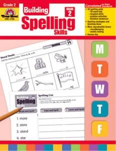 Building Spelling Skills 2  Evan-Moor