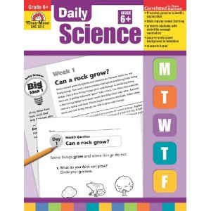 Daily Science Grade 6 Living things DNA, Environment, Earth, Matter, Atoms, Energy)