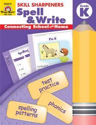 Spell & Write K Skill Sharpeners Evan-Moor  (Spelling & Writing)