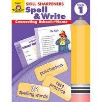 Spell & Write 1 Skill Sharpeners Evan-Moor  (Spelling & Writing)