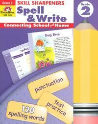 Spell & Write 3 Skill Sharpeners Evan-Moor (Spelling & Writing)