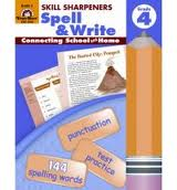 Spell & Write 4 Skill Sharpeners Evan-Moor (Spelling & Writing)