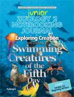 Exploring Creation with Zoology 2 Junior Notebooking Journal (Apologia, Faith based)