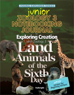 Exploring Creation with Zoology 3 Junior Notebooking Journal (Apologia, Faith basesd)