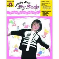 Learning About My Body Gr K-1 Evan Moor