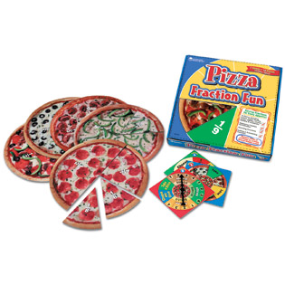 Pizza Fractions Fun Games (Gift Ideas, STEM, BC4, BC5)
