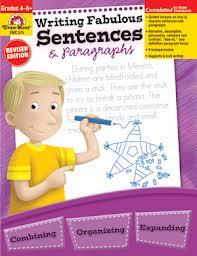 Writing Fabulous Sentences & Paragraphs, Evan-Moor (BC4,BC5, BC6)
