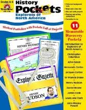 History Pockets: Explorers of North America, Evan Moor