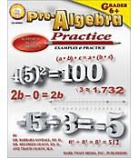 Pre-Algebra Practice Book