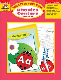Phonics Centers Level A , Pre-K-K