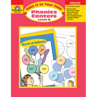 Phonics Centers Level B, K-1 (Take It to Your Seat)