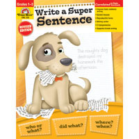 Write a Super Sentence (BC1, BC2, BC3)