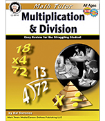 Multiplication & Division Resource Book, Math Tutor Series
