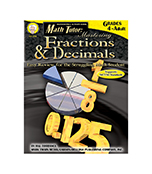 Fractions & Decimals Resource Book, Math Tutor Series (BC5, BC6)