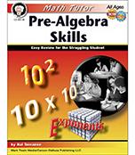 Pre-Algebra Skills, Math Tutor Series