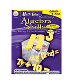 Algebra Skills, Math Tutor Series