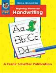 Skill Builders Beginning Manuscript Handwriting