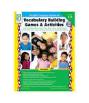 Vocabulary Building Games & Activities Book