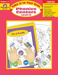 Phonics Centers Level D, Gr. 2-3(Take It to Your Seat)