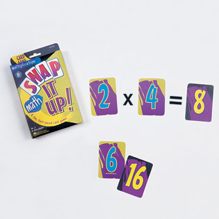 Snap It Up!  Multiplication (card game) (Suggested CP3, BC3)