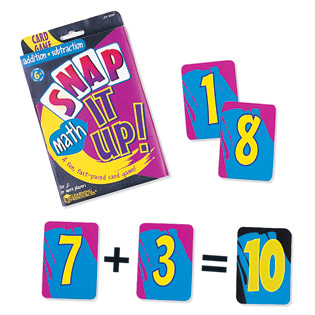 Snap It Up!  Addition/Subtraction (card game) Suggested CP1, CP2 (BC1, BC2)