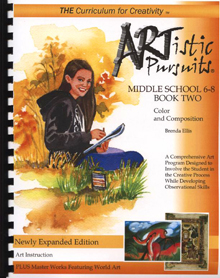 Artistic Pursuits Grade 6-8 Book 2  (Fine Arts, BC6)