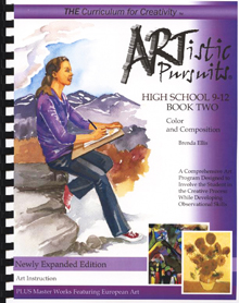 Artistic Pursuits Grade 9-12 Book 2  (Fine Arts)