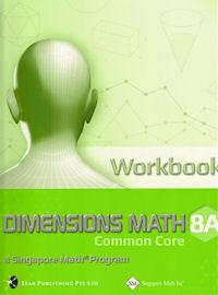 Singapore Math 8A Dimensions Math CC Workbook Solutions