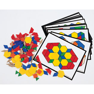 Pattern Blocks Activity Pack (Gift Ideas, STEM)