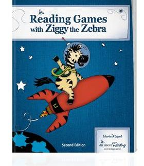 All About Reading Level 1 Reading Games with Ziggy the Zebra (color) (BC1)