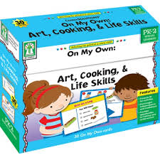 On My Own Art Cooking & Life Skills