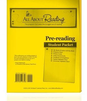 All About Reading Pre-Reading Student Pack (BCK)