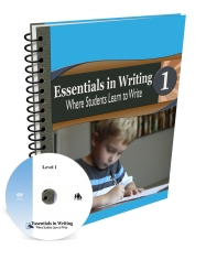 Essentials in Writing Level 1 Combo (DVD & Workbook) FINAL SALE