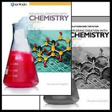 Exploring Creation with Chemistry SET 3rd edition (Apologia, Faith based)
