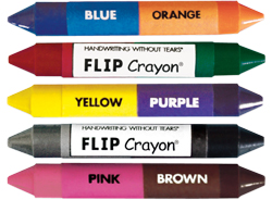 Handwriting without Tears Flip Crayons Set